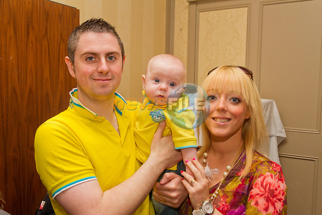 Patrick, Jack and Tara Maguire at the Bring and Buy in the Westcourt..Picture: Shane Maguire / www.newsfile.ie.