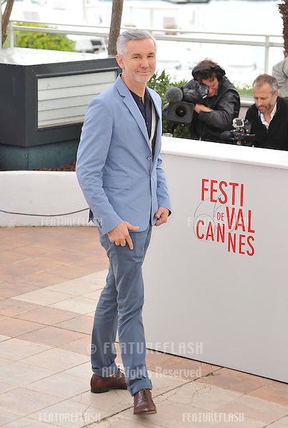 "Director Baz Luhrmann at the photocall for his movie ""The Great Gatsby"" at the 66th Festival de Cannes..May 15, 2013  Cannes, France.Picture: Paul Smith / Featureflash"