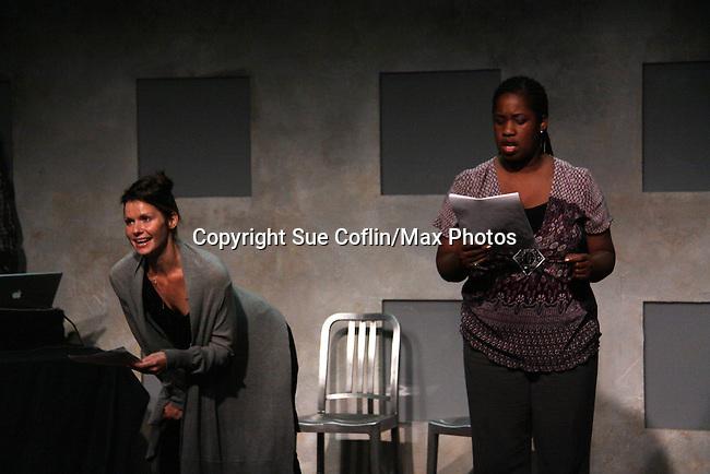 "One Life To Live's Florencia Lozano ""Tea Delgado stars with Cecily Benjamin n ""Verbatim Verboten - NYC"" on October 18, 2010 at the WorkShop Theater, NYC. (Photo by Sue Coflin/Max Photos)"