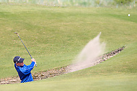 Jayden Schaper (RSA) plays out of a bunker on the 6th during Round 3 of the Lytham Trophy, held at Royal Lytham & St. Anne's, Lytham, Lancashire, England. 05/05/19<br /> <br /> Picture: Thos Caffrey / Golffile<br /> <br /> All photos usage must carry mandatory copyright credit (© Golffile | Thos Caffrey)