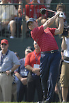 USA Team player Justin Leonard drives off on the 1st tee during the Singles on the Final Day of the Ryder Cup at Valhalla Golf Club, Louisville, Kentucky, USA, 21st September 2008 (Photo by Eoin Clarke/GOLFFILE)