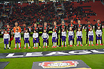 29.11.2018, BayArena, Leverkusen, Europaleque, Vorrunde, GER, UEFA EL, Bayer 04 Leverkusen (GER) vs. Ludogorez Rasgrad (BUL),<br />  <br /> DFL regulations prohibit any use of photographs as image sequences and/or quasi-video<br /> <br /> im Bild / picture shows: <br /> siw Leverkusener Mannschaft<br /> <br /> Foto &copy; nordphoto / Meuter<br /> <br /> <br /> <br /> Foto &copy; nordphoto / Meuter