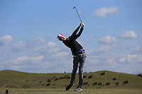 James Thompson during Round Two of the West of England Championship 2016, at Royal North Devon Golf Club, Westward Ho!, Devon  23/04/2016. Picture: Golffile | David Lloyd<br /> <br /> All photos usage must carry mandatory copyright credit (&copy; Golffile | David Lloyd)