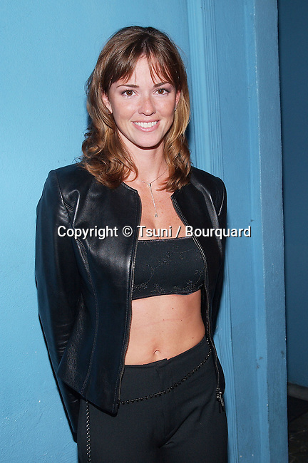 Shannon Michelle arriving at the Big Brother 2's reunion at the Belly Restaurant in Los Angeles. September 20, 2001.          -            MichelleShannon07.jpg
