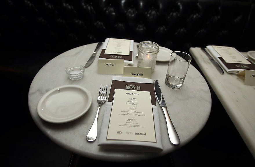 Atmosphere at the Gilt Man diner at the Fedora in New York City on February 16,2011. ( Donald Traill/ Wall Street Journal) 10770 Gilt Man Diner