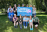 Breast cancer survivors learn to flyfish during a Casting for Recovery retreat in Gardnerville, Nev., on Friday, June 39, 2017. The program was coordinated with Carson Tahoe Cancer Center.<br /> Photo by Cathleen Allison/Nevada Photo Source