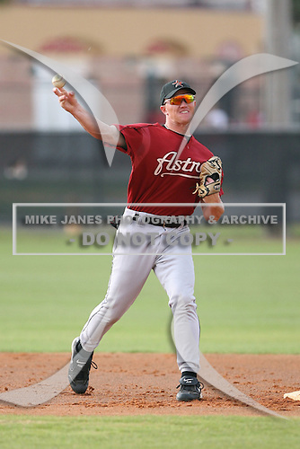 March 16th 2008:  Bernard Anderson of the Houston Astros minor league system during Spring Training at Osceola County Complex in Kissimmee, FL.  Photo by:  Mike Janes/Four Seam Images