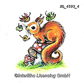 CUTE ANIMALS, LUSTIGE TIERE, ANIMALITOS DIVERTIDOS, paintings+++++,KL4593/4,#ac#, EVERYDAY ,stickr,stickers