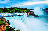 Niagara Falls at Sunset, Niagara Reservation State Park, New York