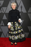HOLLYWOOD, CA - NOVEMBER 11: Helen Mirren at the AMPAS 9th Annual Governors Awards at the Dolby Ballroom in Hollywood, California on November 11, 2017. <br /> CAP/MPI/DE<br /> &copy;DE/MPI/Capital Pictures