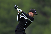 Marcel Schneider (GER) on the 2nd tee during Round 4 of the Challenge Tour Grand Final 2019 at Club de Golf Alcanada, Port d'Alcúdia, Mallorca, Spain on Sunday 10th November 2019.<br /> Picture:  Thos Caffrey / Golffile<br /> <br /> All photo usage must carry mandatory copyright credit (© Golffile | Thos Caffrey)