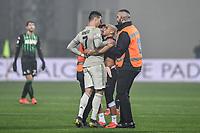 Pitch invasion, Cristiano Ronaldo Juventus.<br /> Reggio Emilia 10-2-2019 Stadio Mapei, Football Serie A 2018/2019 Sassuolo - Juventus<br /> Foto Andrea Staccioli / Insidefoto