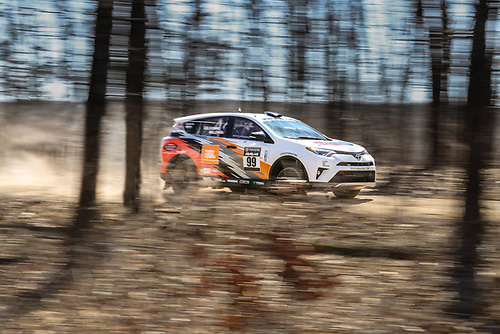 2017 Rally America<br /> Rally in the 100 Acre Wood<br /> Salem, MO USA<br /> Tuesday 14 March 2017<br /> Ryan Millen, Rhianon Gelsomino<br /> &copy;2017, Gardner Automotive Communications, Inc.