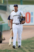 Kyle Blanks - Tucson Padres - 2011 Pacific Coast League (Bill Mitchell)