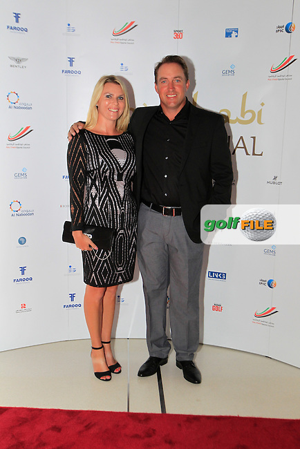 Darren Fichardt during the 2015 Abu Dhabi Invitational Gala Evening held at The Viceroy Hotel, Yas Island, Abu Dhabi.: Picture Eoin Clarke, www.golffile.ie: 1/25/2015