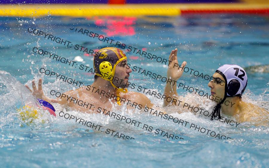 Mladjan Janovic Partizan Galatasaraj liga sampiona vaterpolo, 28.11.2015. (credit image & photo: Pedja Milosavljevic / STARSPORT)