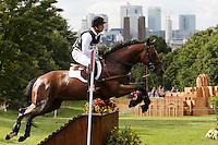 LONDRES, INGLATERRA, 30 JULHO 2012 - OLIMPIADAS 2012 - CROSS COUNTRY -  O atleta Michael Jung  da Alemanha durante a prova do Cross Country nas  Olimpiadas de Londres, nesta segunda-feira, 30. (FOTO: PIXATHLON / BRAZIL PHOTO PRESS).