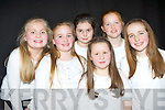 Girls from Scoil Mhuire, Killorglin that sang at the Kerry Peace Proms in the INEC on Sunday front row l-r: Rebecca Sealey, Lucy O'Donnell, Alice Joy. Back row: Orla Browne, Caragh Browne, Hanna Joy..