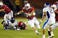 Casey Moore during Stanford's 63-26 win over San Jose State on September 14, 2002 at Stanford Stadium.<br />Photo credit mandatory: Gonzalesphoto.com