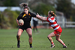 NELSON, NEW ZEALAND - JUNE 22: Women's Rugby - Wamiea Old Boys v Motueka High School. 22 June 2019 in Richmond, New Zealand. (Photo by Chris Symes/Shuttersport Limited)