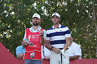 Thomas Pieters (BEL) on the 17th tee during Round 3 of the Abu Dhabi HSBC Championship at the Abu Dhabi Golf Club, Abu Dhabi, United Arab Emirates. 18/01/2020<br /> Picture: Golffile | Thos Caffrey<br /> <br /> <br /> All photo usage must carry mandatory copyright credit (© Golffile | Thos Caffrey)