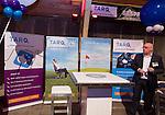 UTRECHT -  TARQ stand, A tribe called Golf, de kracht van de connectie. Nationaal Golf Congres van de NVG 2014 , Nederlandse Vereniging Golfbranche. COPYRIGHT KOEN SUYK