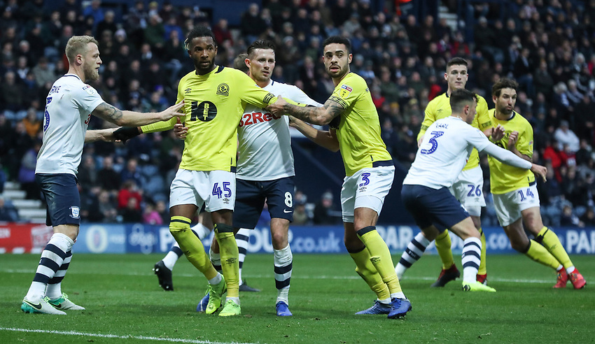 Blackburn Rovers' Kasey Palmer<br /> <br /> Photographer Rachel Holborn/CameraSport<br /> <br /> The EFL Sky Bet Championship - Preston North End v Blackburn Rovers - Saturday 24th November 2018 - Deepdale Stadium - Preston<br /> <br /> World Copyright © 2018 CameraSport. All rights reserved. 43 Linden Ave. Countesthorpe. Leicester. England. LE8 5PG - Tel: +44 (0) 116 277 4147 - admin@camerasport.com - www.camerasport.com