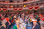27. 02.2019, Maritim Hotel , Koeln,  GER, Karnevalssitzung des 1. FC Koeln , <br /> <br /> im Bild / picture shows: <br /> die Stimmung im Saal ist ausgefallen <br /> <br /> Foto © nordphoto / Meuter