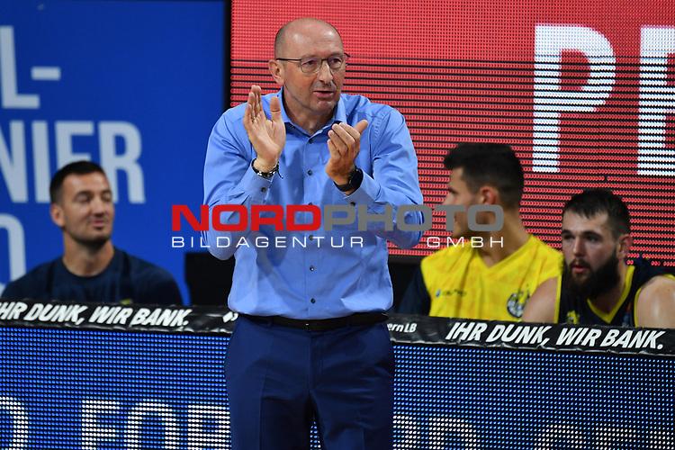 Mladen DRIJENCIC (Trainer Ol),<br /> Gestik,gibt Anweisungen,<br /> <br /> Basketball 1.Bundesliga,BBL, nph0001-Finalturnier 2020.<br /> Viertelfinale am 18.06.2020.<br /> BROSE BAMBERG-EWE BASKETS OLDENBURG,<br /> Audi Dome<br /> <br /> Foto:Frank Hoermann / SVEN SIMON / /Pool/nordphoto<br /> <br /> National and international News-Agencies OUT - Editorial Use ONLY