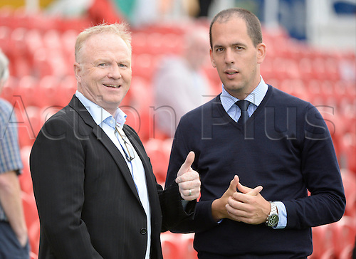 04.08.2016. Cork, Ireland. UEFA, Europa League football qualification round. Cork City versus Racing Genk.  Alex McLeish, ex head coach of Genk at the game.