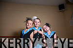 Pictured at the Academy of Dance anual show held in Siamsa on Sunday were: Anna Roberts, Lucy Finn and Katie Crean.