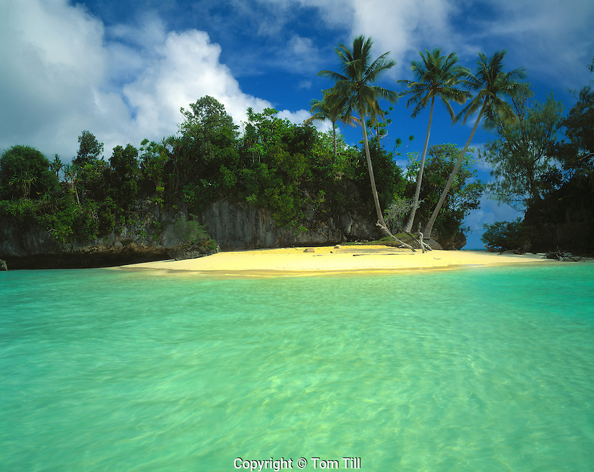 Honeymoon Beach, Rock Islands National Park, Republic of Palau   Micronesia   South Pacific