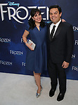 attends the Broadway Opening Night After Party for 'Frozen' at Terminal 5 on March 22, 2018 in New York City.