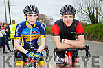 At the  John Drumm Cycle Race, Currow on Sunday were Cathal Murray and Arminas Meskauskas