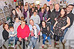 Pat Ahern, Iveragh Park, Killorglin, pictured with his family and friends as he celebrated his 60th birthday at home on Saturday night.