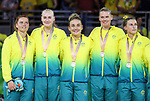 Gold Coast 2018 Commonwealth Games<br /> Hockey Centre  14/4/18<br /> Day 10 Gold Medal Match <br /> AUS v NZ Men<br /> <br /> <br /> <br /> Photo: Grant Treeby