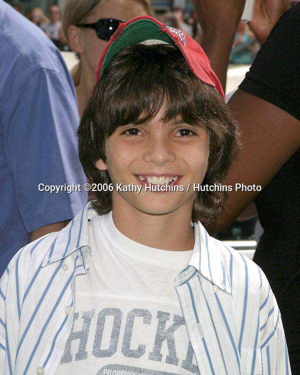 """Zach Tyler Eisen.""""The Ant Bully"""" LA Premiere.Grauman's Chinese Theater.Los Angeles, CA.July 23, , 2006.©2006 Kathy Hutchins / Hutchins Photo...."""