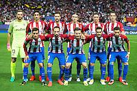 ATLETICO DE MADRID v BAYERN MUNICH. UEFA Champions League.