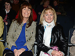 Sylvia and Olive Devlin pictured at the Augustinian Gospel Choir show at the Barbican Centre. Photo:Colin Bell/pressphotos.ie