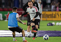 Washington, DC. - Sunday, August 12 2018: D.C. United defeated Orlando City 3-2 in a MLS match at Audi Filed.