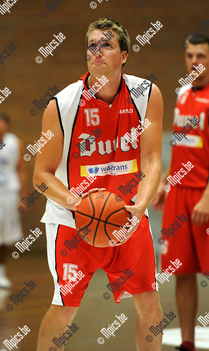 2011-08-20 / Basketbal / seizoen 2011-2012 / BBC Willebroek / Yannick Corthals..Foto: Mpics