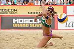 31.05.2015, Moskau, Vodny Stadion<br /> Moskau Grand Slam, Main Draw / Finale<br /> <br /> Abwehr Larissa Franca (#1 BRA)<br /> <br />   Foto &copy; nordphoto / Kurth