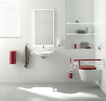 Dementia Care Bathroom Setting; HEWI (German, founded 1929); Courtesy of HEWI