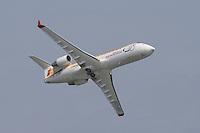 Air Nostrum CRJ Aviación civil. V FESTIVAL AEREO CIUDAD DE VALENCIA, 19/10/2008 - Playa de la Malvarrosa / Malvarrosa beach, Valencia, España / Spain