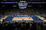 LOS ANGELES - MAY 5:  A general view of the game between the UCLA Bruins and the Long Beach State 49ers during the Division 1 Men's Volleyball Championship on May 5, 2018 at Pauley Pavilion in Los Angeles, California. The Long Beach State 49ers defeated the UCLA Bruins 3-2. (Photo by John W. McDonough/NCAA Photos via Getty Images)