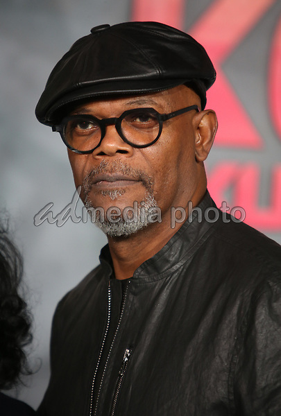 """08 March 2017 - Hollywood, California - Samuel L. Jackson. """"Kong: Skull Island"""" Los Angeles Premiere held at Dolby Theatre. Photo Credit: AdMedia"""