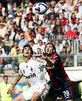 "kaka juric <br /> Genova 14/09/2008 Stadio ""Ferraris"" <br /> Calcio Serie A Tim 2008-2009 <br /> Genoa-Milan<br /> Foto Davide Elias Insidefoto"