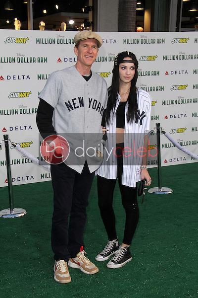 "Matthew Modine, Ruby Modine<br /> at the ""Million Dollar Arm"" World Premiere, El Capitan, Hollywood, CA 05-06-14<br /> David Edwards/Dailyceleb.com 818-249-4998"