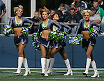 Seattle Seagals perform during pre-game activities before the Seahawks game against the Arizona Cardinals at CenturyLink Field in Seattle, Washington September 25, 2011.  The Seahawks beat the Cardinals 13-10.  ©2011 Jim Bryant Photo. All Rights Reserved.