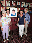 Michael McGrath & Family .attending the unveiling of the Sardi's caricature for the Tony Award-winning star of 'Nice Work If You Can Get It', Michael McGrath on July 12, 2012 in New York City.